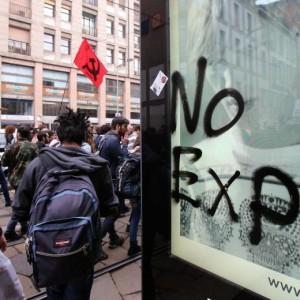 """No Expo """"contro il capitalismo"""". Capitalismo il cibo? La rivoluzione anoressica"""