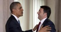 """Renzi da Obama """"Usa un modello Stop a questa austerity Ue"""""""