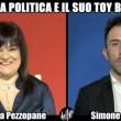 Stefania Pezzopane e il toy boy Simone Coccia. Le Iene, intervista doppia