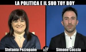 """Simone Coccia Colaiuta: """"Con Stefania Pezzopane mi piace farlo a pecorina"""""""