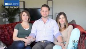 Adam Lyons poligamo: 2 fidanzate, letto extra large e caccia a terza moglie