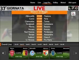 Renate-Alessandria: diretta streaming Sportube. Formazioni, link e info