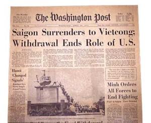 """30 aprile 1965, la caduta di Saigon. Bernando Valli, """"la mattinata di 40 anni fa"""""""