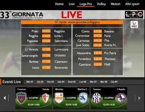 Savona-L'Aquila: diretta streaming Sportube. Info, link e formazioni