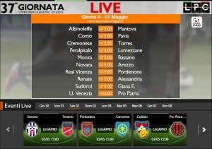 Savona-Teramo: diretta streaming Sportube. Formazioni, link e info