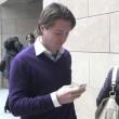 Raffaele Sollecito prega in chiesa...prima di essere assolto