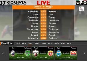Spal-Pistoiese: diretta streaming Sportube. Formazioni, info e link