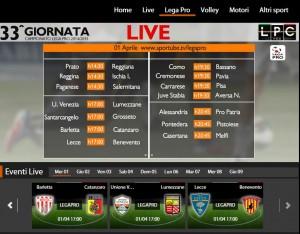 Venezia-Lumezzane: diretta streaming Sportube. Info, link e formazioni
