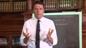 """Scuola, Renzi: """"Ascoltare è ascoltare non assecondare"""""""