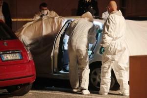 Trifone Ragone e Teresa Costanza,  la scena del delitto (foto Ansa)