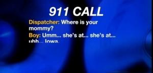 La madre ha attacco epilettico: a soli 4 anni chiama il 911