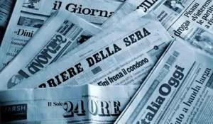 """Giornali, i conti """"veri"""" : Repubblica soffre, Corriere prospera"""