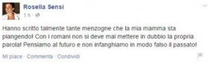 """Roma, Rosella Sensi attacca James Pallotta: """"Bugie sulla mia famiglia"""""""