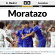 """""""Moratazo"""": Marca celebra Alvaro Morata e Juventus in finale Champions"""