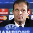 """Juventus-Barcellona, Allegri: """"Possiamo vincere. E' una partita secca"""""""