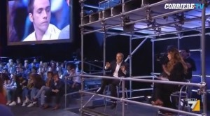 """Antonio Di Pietro a Alba Parietti: """"Qualcosa mangerai, c...o!"""" VIDEO"""