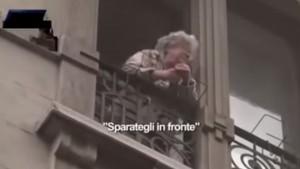 "VIDEO YouTube - Anziana milanese contro No Expo: ""Vergogna, sparategli in fronte"""