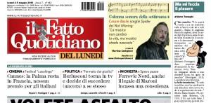 """Marco Travaglio, rubrica sul Fatto Quotidiano: """"Ma mi faccia il piacere"""""""