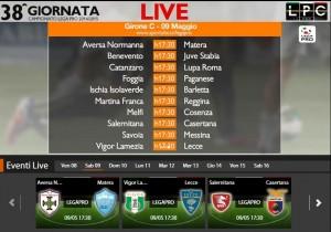 Aversa-Matera: diretta streaming Sportube su Blitz. Formazioni e info