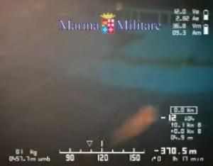 Video YouTube del relitto della strage: i corpi in fondo al mare