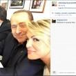 Silvio Berlusconi sbarca su Instagram con Dudù e Francesca Pascale FOTO04