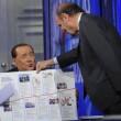VIDEO Berlusconi a Porta a Porta confonde Bruno Vespa con Emilio Fede. Perdonato