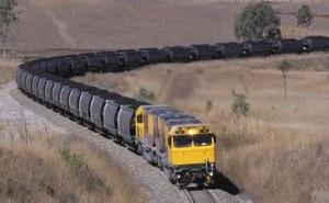 Un treno di carbone