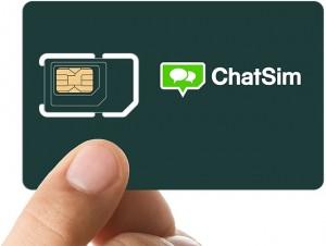 ChatSim, scheda che ti fa chattare gratis apre alle chiamate Whatsapp, Viber...