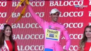 Giro d'Italia: Alberto Contador nuova maglia rosa. Jan Polanc vince quinta tappa