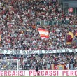 Lazio-Roma: tifoso giallorosso ha infarto all'Olimpico. Rianimato in ospedale