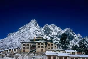 Un monastero in Nepal
