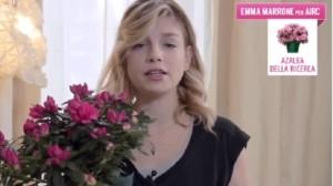 Festa mamma, azalea per ricerca contro cancro: Emma Marrone testimonial VIDEO