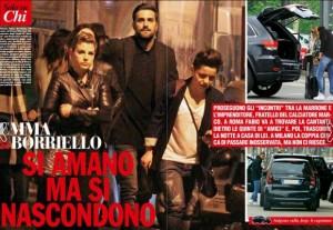 Emma Marrone e Fabio Borriello paparazzati insieme FOTO Chi