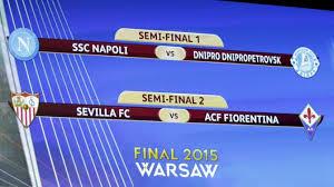 Siviglia-Fiorentina, Napoli-Dnipro: dove vedere Europa League in Tv
