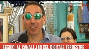 Fabio e Mingo in giro per Bari: no comment su Striscia VIDEO Telenorba