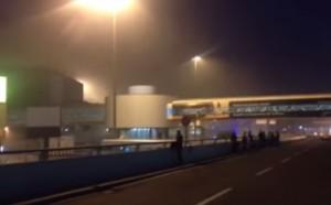 VIDEO YouTube. Fiumicino, incendio aeroporto. Evacuato Terminal 3