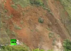 VIDEO YouTube - Frana in Colombia travolge villaggio: oltre 30 morti