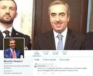 Gasparri a processo per un tweet, primo in Italia. Dove porta amore di polemica?