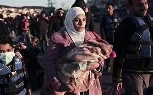Migranti siriani in Grecia