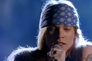 Axl Rose dei Guns N' Roses  Axl Rose Sweet Child O Mine
