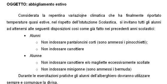 Prato, preside vieta le minigonne e i bermuda a scuola
