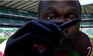 rugby, Injera scrive su telecamera con pennarello indelebile. Danni da 83mila €