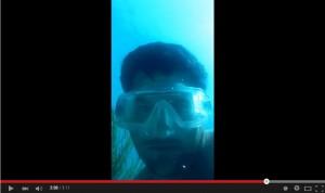 Video YouTube, iPhone 5 cade nell'oceano ma non smette di riprendere