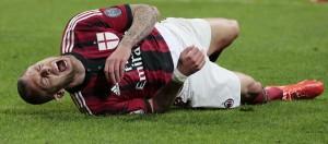 Milan. Jeremy Menez squalificato 4 giornate per insulti all'arbitro e bestemmia