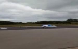 """""""Jet Reactions"""", il razzo con due ruote che raggiunge i 720 km/h"""