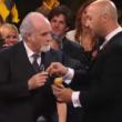 Antonio Ricci, Joe Bastianich e la patata da pelare al Premio Tv 2015