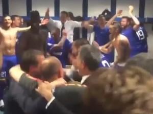 "VIDEO YouTube - Real-Juve, festa negli spogliatoi: spunta coro ""Napoli m...."""