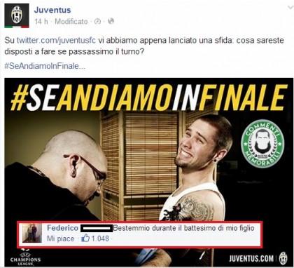 """Federico Giannini: """"Juve in finale? Bestemmio al battesimo di mio figlio"""". E ora..."""