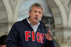 """Maurizio Landini a David Parenzo: """"Renzi è una malattia"""""""