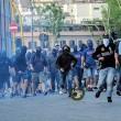 Lazio-Roma FOTO: gol, scontri, stadio, striscioni e coreografie